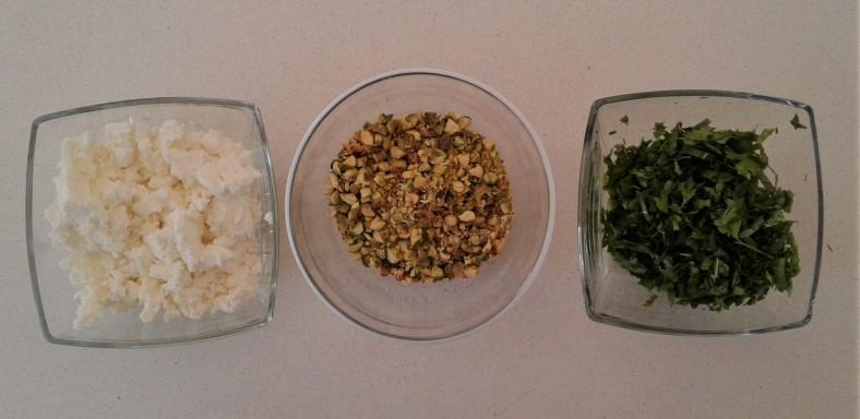Feta Nuts Herbs