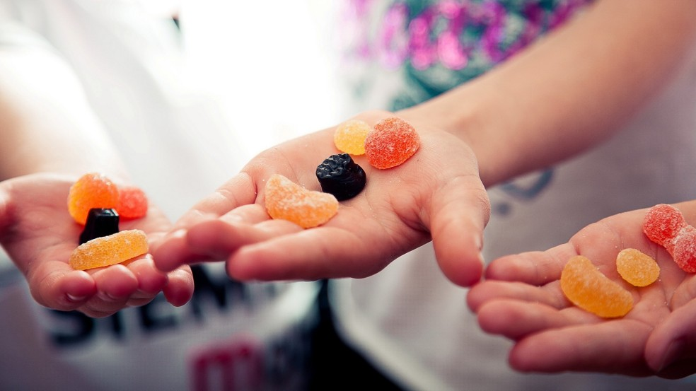 Sharing sweets