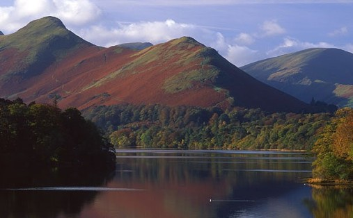 Catbells from Derwent Water