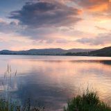 Bala Lake at sunset