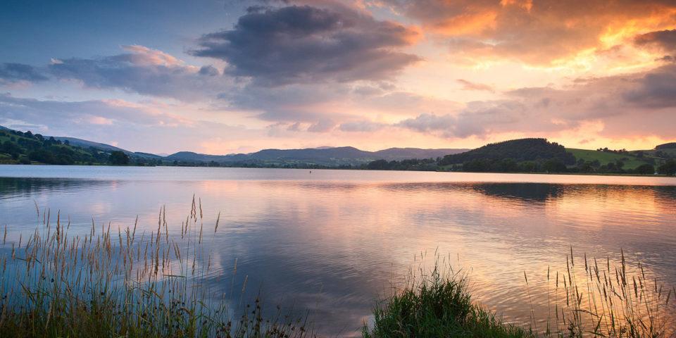 Bala Lake at sunset