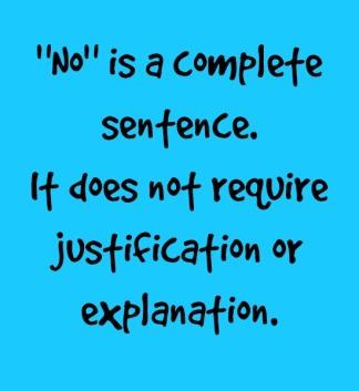 no complete sentence