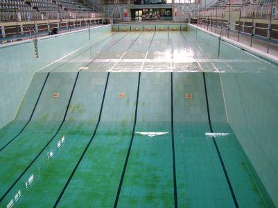 wigan empty pool
