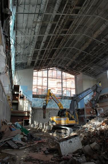 wigan pool demolished