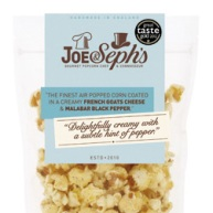 popcorn - goat's cheese
