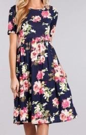 floral dress 2
