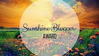 sunshine blogger award 3