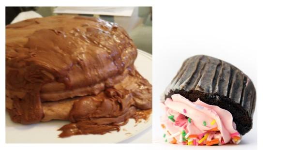 disaster cake