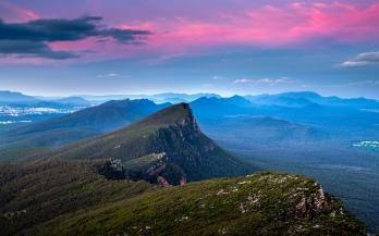 Sunset Over Signal Peak
