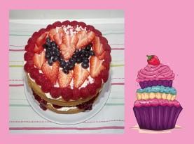 I love summer cake