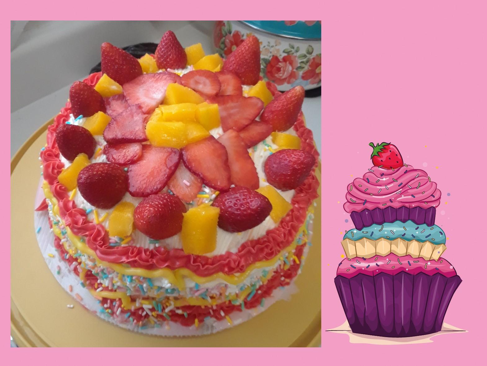 The Tropical Cake