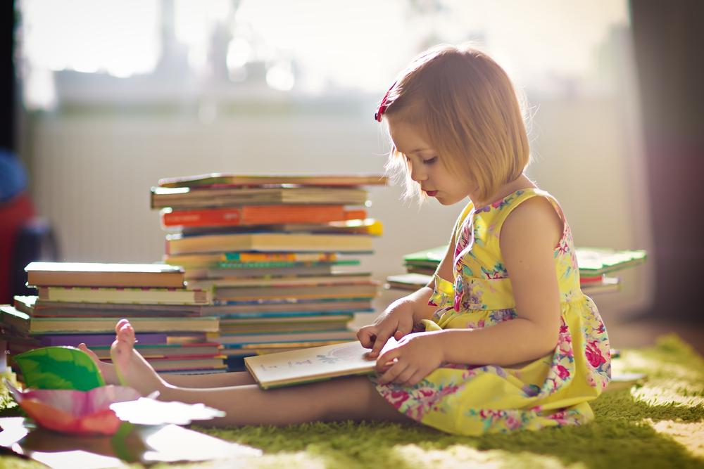 reading as a littlin